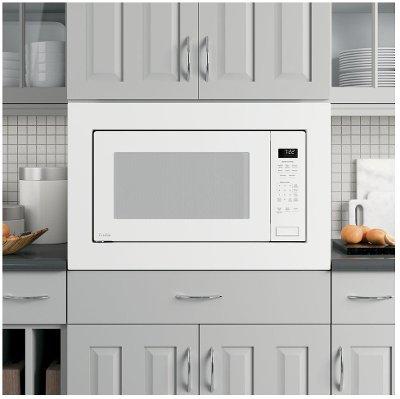 PEB7227DLWW+JX7230DLWW GE Profile 2.2 Cu. Ft. Microwave And 30 Inch Trim Kit