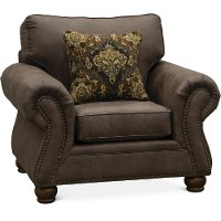 Casual Traditional Oak Brown Chair - Tahoe