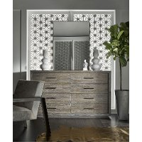 ... Off White And Charcoal 9 Piece King Bedroom Set   Modern 2