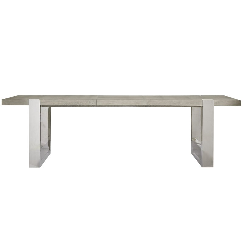Flint and Steel Modern Dining Room Table - Modern