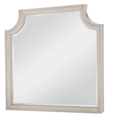 Traditional Linen Mirror - Brookhaven