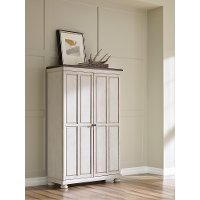 Traditional Two-Tone Door Chest - Brookhaven