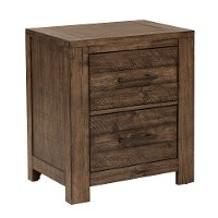Reclaimed Modern Brown Nightstand - Dakota