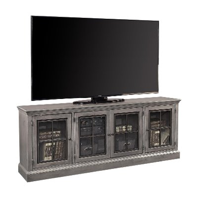 Rustic Gray 84 Inch TV Stand - Churchill