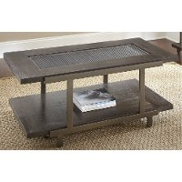 Contemporary Brown Coffee Table - Terrell