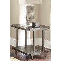 Contemporary Brown End Table - Terrell