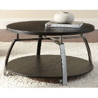 Contemporary Black Coffee Table - Coham
