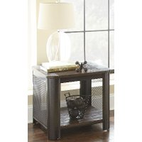 Modern Brown End Table - Barrow