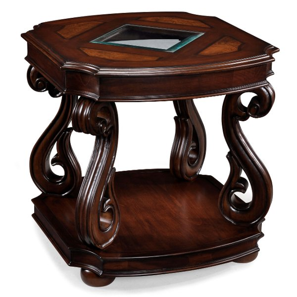 ... Traditional Italian Brown Coffee Table   Harcourt