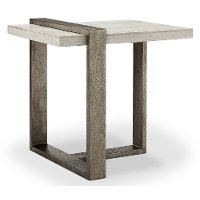 Marble Ultra Modern End Table - Wiltshire