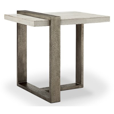 Marble Ultra Modern End Table