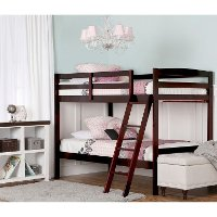 Cherry Twin-over-Twin Bunk Bed - Taylor
