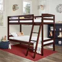 Espresso Twin-over-Twin Bunk Bed - Taylor