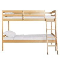 Natural Twin-over-Twin Bunk Bed - Taylor