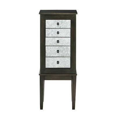 Dusk Shimmer Jewelry Armoire Larrin RC Willey Furniture Store