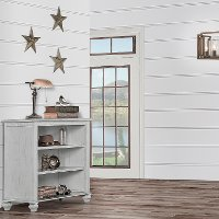 868-AM Classic Antique Gray Mini Hutch - Madison