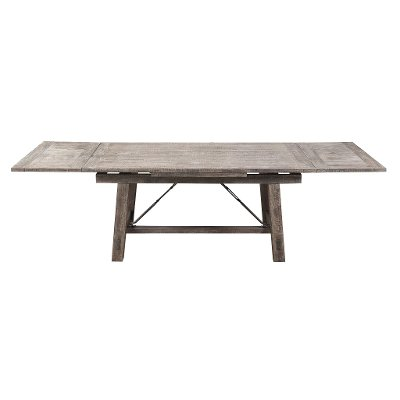 Reclaimed Pine Trestle Dining Room Table - Dakota