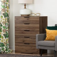 11282 Modern Farmhouse Walnut Chest of Drawers - Holland
