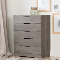 11287 Modern Farmhouse Sand Oak Chest of Drawers - Holland