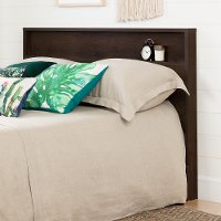 11240 Modern Farmhouse Brown Full-Queen Size Headboard - Holland