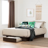11241 Modern Farmhouse Brown Full-Queen Platform Bed - Holland