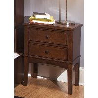 Classic Tobacco Brown Nightstand - Chelsea Square