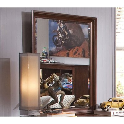 Classic Tobacco Brown Mirror - Chelsea Square