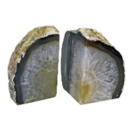 Medium Agate Bookend Pair