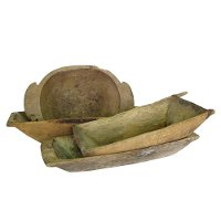 Assorted Turkish Wooden Dough Bowl