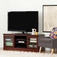 10533 Cherry Brown TV Stand (54 Inch) - Morgan