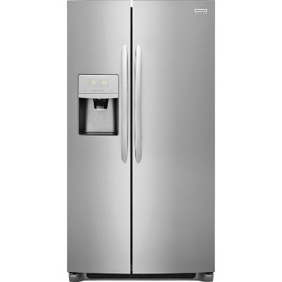 DGHX2655TF Frigidaire Gallery 25.6 cu. ft. Side by Side Refrigerator - 36 Inch Stainless Steel