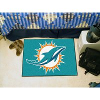 5793 2 x 3 X-Small Miami Dolphins Starter Rug