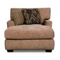 Casual Contemporary Taupe Chaise - Alton