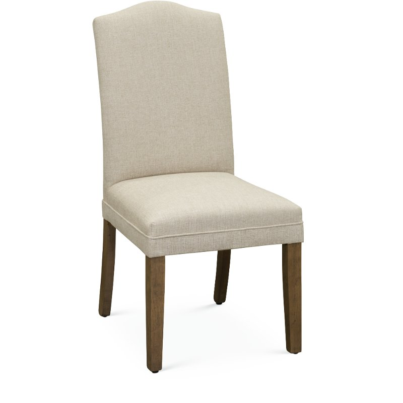 Glacier Cream Parsons Upholstered Dining Chair
