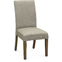 Pale Gray Parsons Upholstered Dining Chair