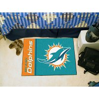 8232 2 x 3 X-Small Miami Dolphins Starter Rug