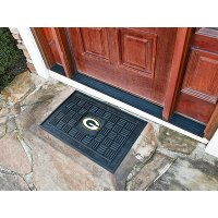 11444 2 x 3 X-Small Green Bay Packers Medallion Door Mat