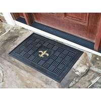 11448 2 x 3 X-Small New Orleans Saints Medallion Door Mat
