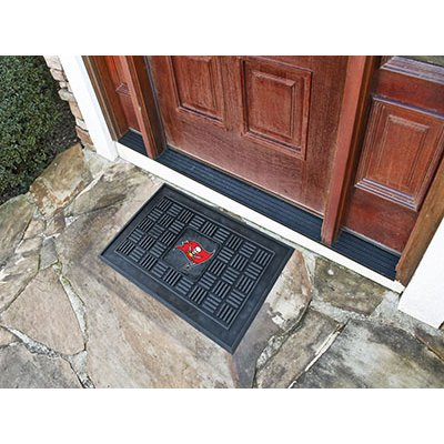 2 x 3 x small tampa bay buccaneers medallion door mat rcwilley image1~800