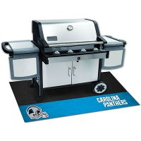 12178 2 x 4 X-Small Carolina Panthers Grill Mat