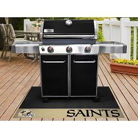 12193 2 x 4 X-Small New Orleans Saints Grill Mat