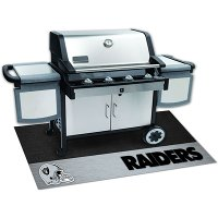 12196 2 x 4 X-Small Oakland Raiders Grill Mat