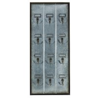 Metal 12 Hook Wall Board