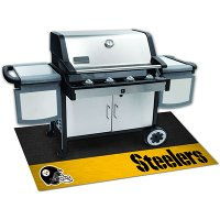 12198 2 x 4 X-Small Pittsburgh Steelers Grill Mat