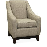 Fog Gray and Cream Club Chair - Mariko