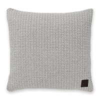 100244 Gray Quilted Throw Pillow - Lodge