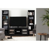 10532 Black Oak TV Stand (75 Inch) - Morgan