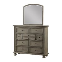 Casual Classic Gray Tall Dresser - Barnwell