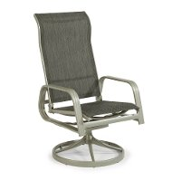 Sling Swivel Rocking Chair - South Beach