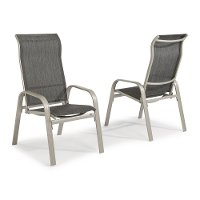 Two Sling Arm Chairs - South Beach